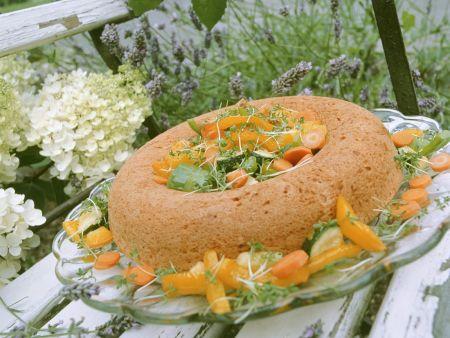 Hefekuchen mit Gemüse