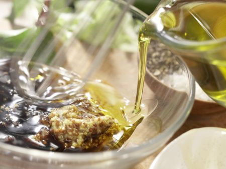 Herbstlicher Salat mit Lammfilet: Zubereitungsschritt 4