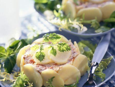 Heringscreme mit Kartoffeln