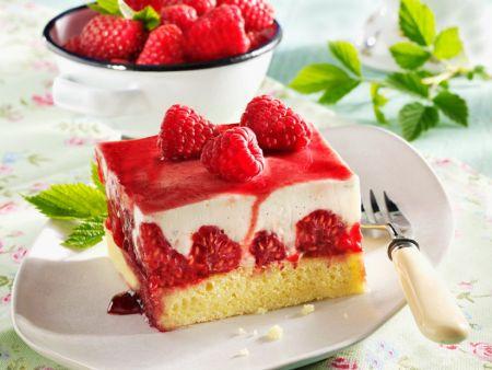 Himbeer-Joghurt-Kuchen