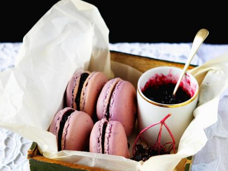 holunder macarons rezept eat smarter. Black Bedroom Furniture Sets. Home Design Ideas