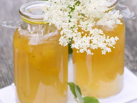 Holunder-Zitronen-Gelee