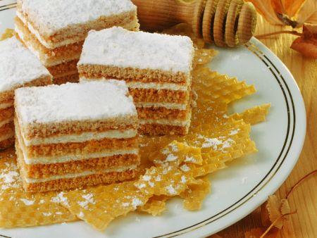 Honigkuchen mit Cremefüllung