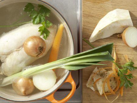 Hühnerfrikassee – smarter: Zubereitungsschritt 3