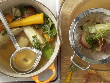 Hühnerfrikassee – smarter: Zubereitungsschritt 4