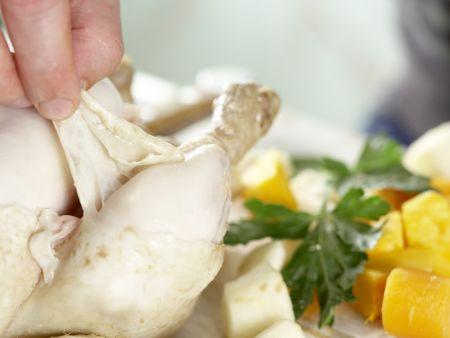 Hühnersuppe nach Großmutters Art – smarter: Zubereitungsschritt 8