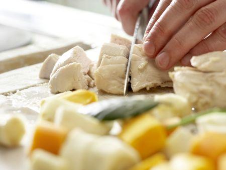Hühnersuppe nach Großmutters Art – smarter: Zubereitungsschritt 9