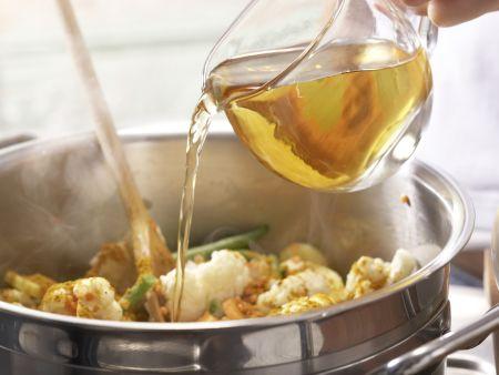 Indisches Gemüse-Curry: Zubereitungsschritt 8