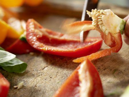 Italienisches Ofengemüse: Zubereitungsschritt 2