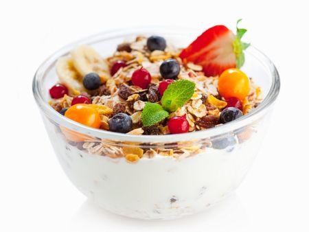 Joghurt-Früchtemüsli