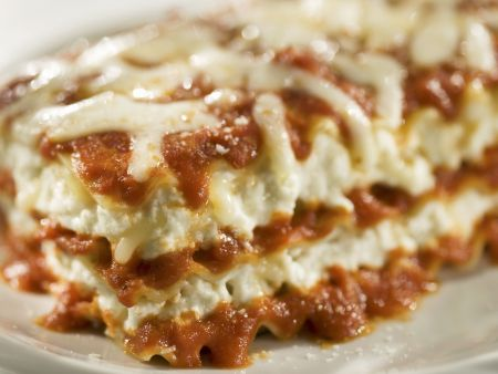 Käse-Lasagne