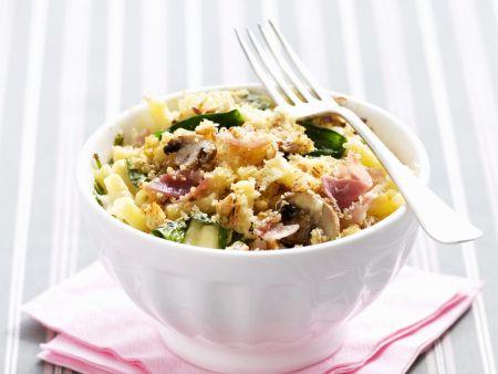 Käse-Makkaroni mit Gemüse