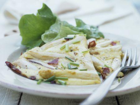 Käse-Spargel-Omelett nach spanischer Art
