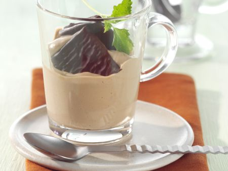 Kaffee-Minz-Becher