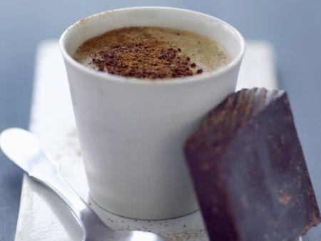 Kaffee mit Schokolade