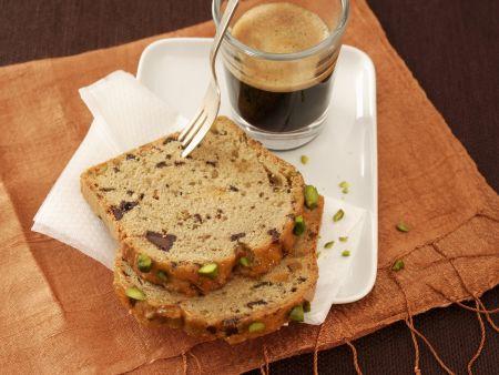 Kaffeekuchen mit Pistazien