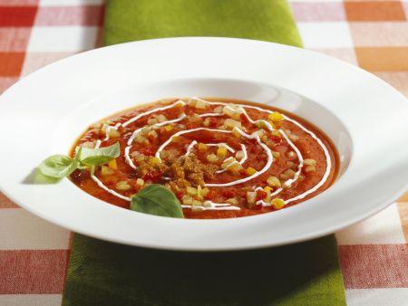 Kalte Gemüsesuppe auf österreichische Art