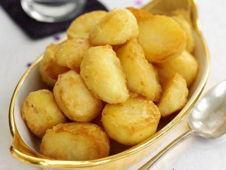 Karamellisierte Kartoffeln