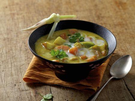 Karotten-Kokos-Suppe auf ayurvedische Art