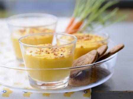 Karottencreme mit Zimt