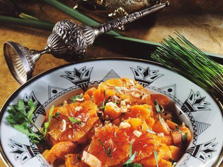 Karottensalat mit Orangen