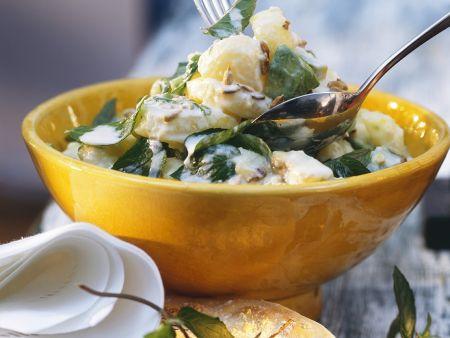 Kartoffel-Avocadosalat