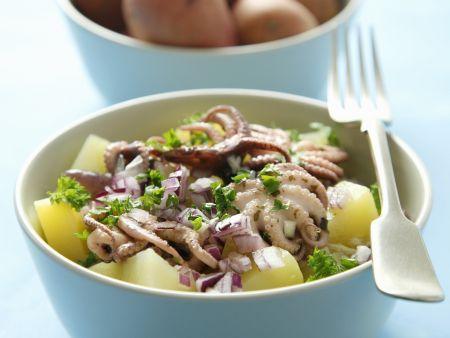 Kartoffel-Calamari-Salat