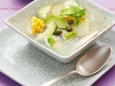 Kartoffel-Hähnchensuppe