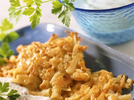 Kartoffel-Möhrenpuffer