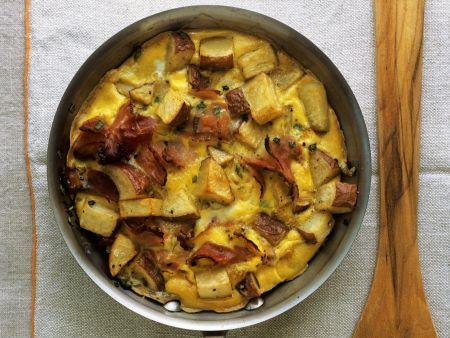 Kartoffel-Pancetta-Frittata