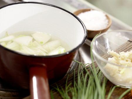 Kartoffel-Räucherlachs-Pfanne: Zubereitungsschritt 2