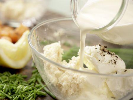 Kartoffel-Räucherlachs-Pfanne: Zubereitungsschritt 5