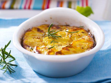 Kartoffelauflauf mit Rosmarin