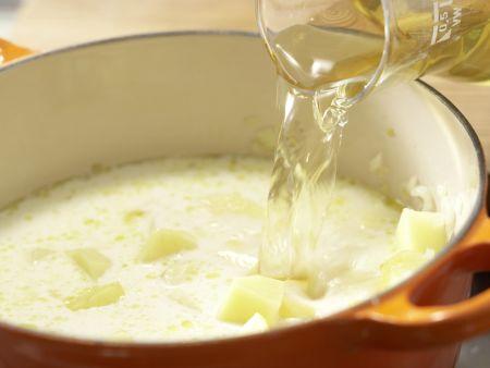 Kartoffelcremesuppe: Zubereitungsschritt 3