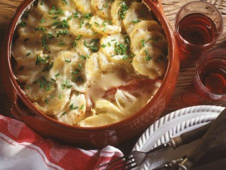 Kartoffelgratin mit Reblochon-Käse