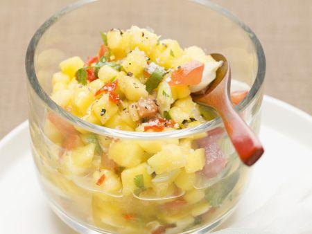 Kartoffelsalat mit Chili