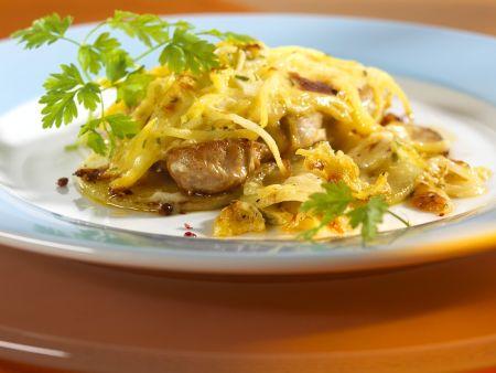 berbackene schnitzel rezept eat smarter. Black Bedroom Furniture Sets. Home Design Ideas