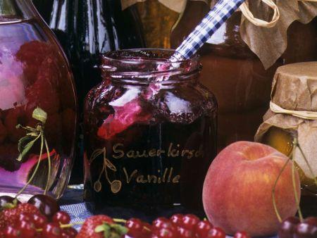 Kirschen-Vanille-Marmelade