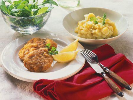 Wiener Schnitzel mit Kartoffelsalat