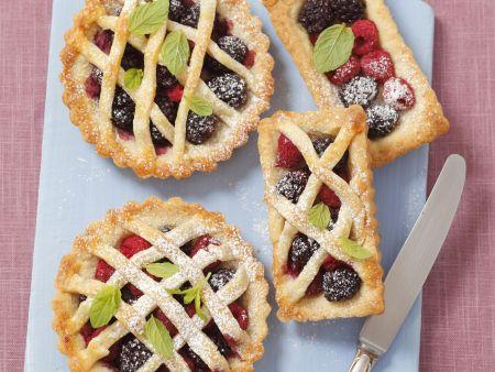 Kleine Beerenkuchen