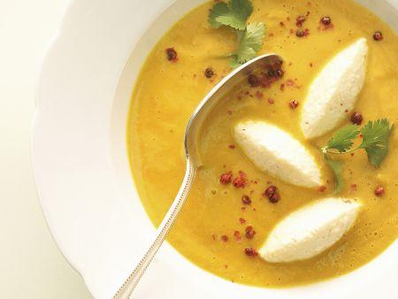 Kokos-Kürbis-Suppe