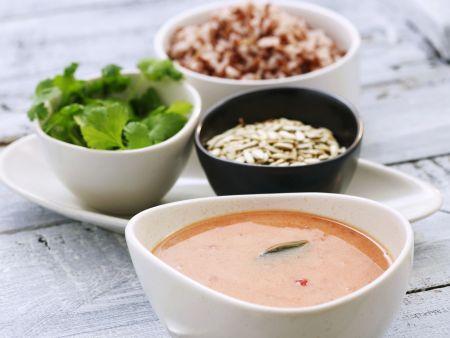 Kokos-Tomaten-Suppe