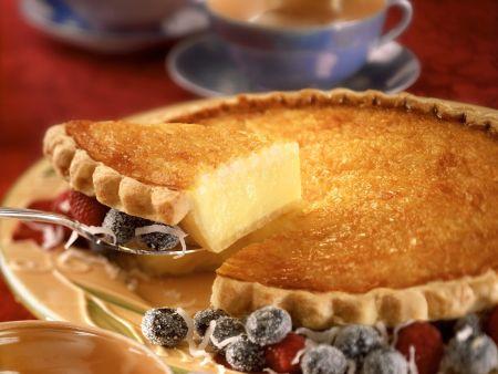 Kokos-Vanille-Tarte