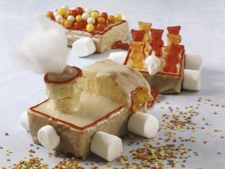 Kuchenzug zum Kindergeburtstag