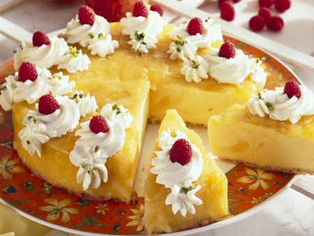 Kürbis-Apfel-Torte