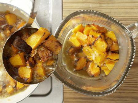 Kürbis-Ingwer-Suppe: Zubereitungsschritt 5