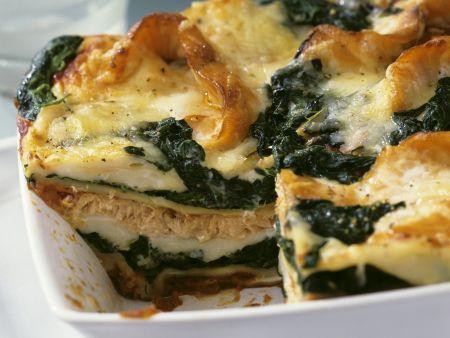 lachs spinat lasagne rezept eat smarter. Black Bedroom Furniture Sets. Home Design Ideas