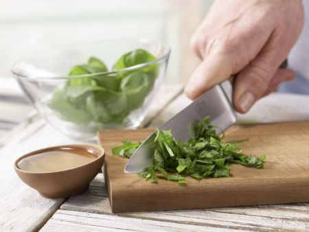 Lachsfilet aus dem Ofen: Zubereitungsschritt 1