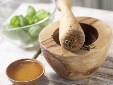 Lachsfilet aus dem Ofen: Zubereitungsschritt 2