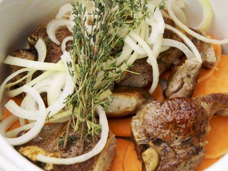 Lamm-Kartoffel-Auflauf auf englische Art